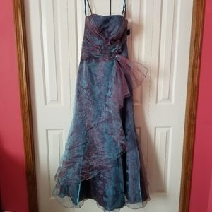 Sally USA Cascade Gown New With Tags